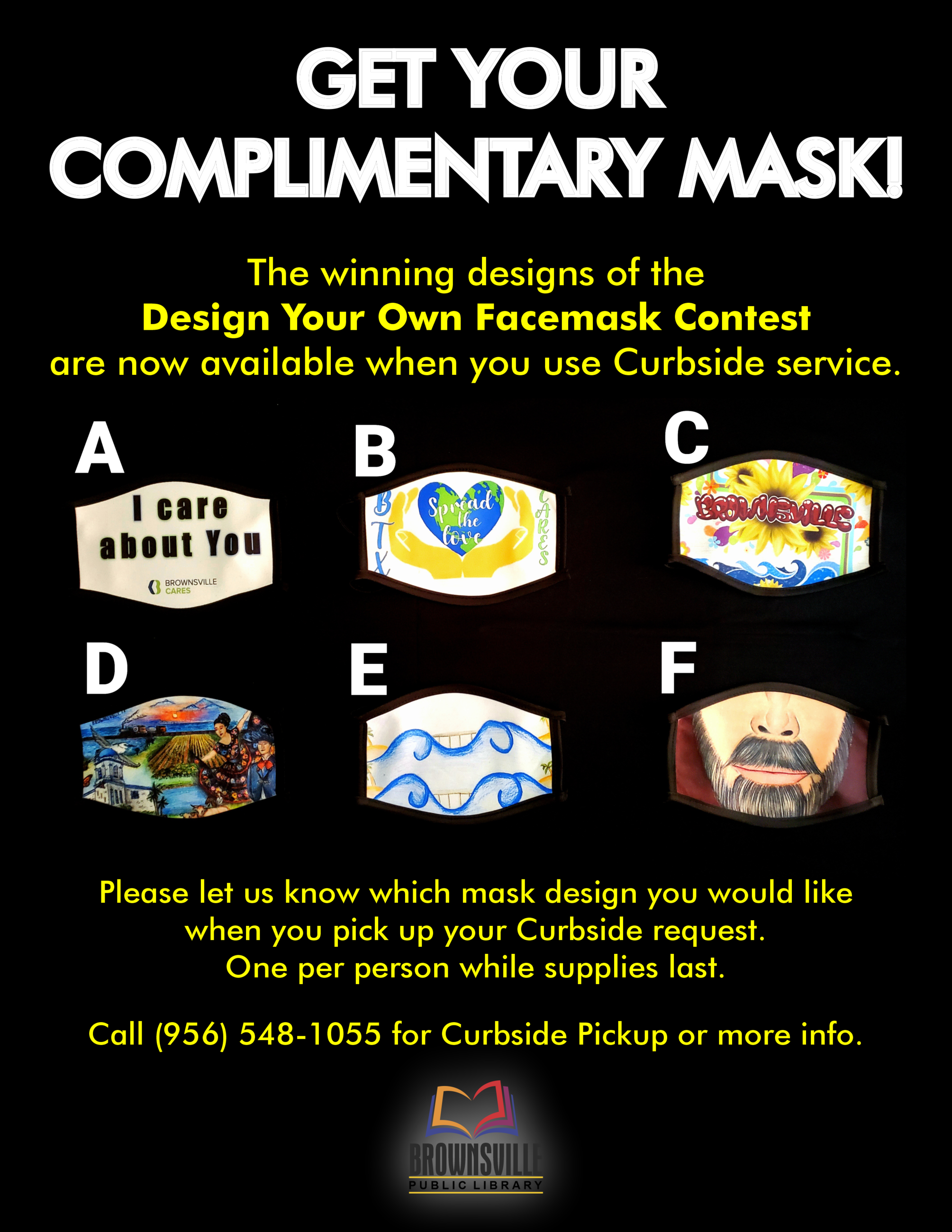Facemask Winners Ad