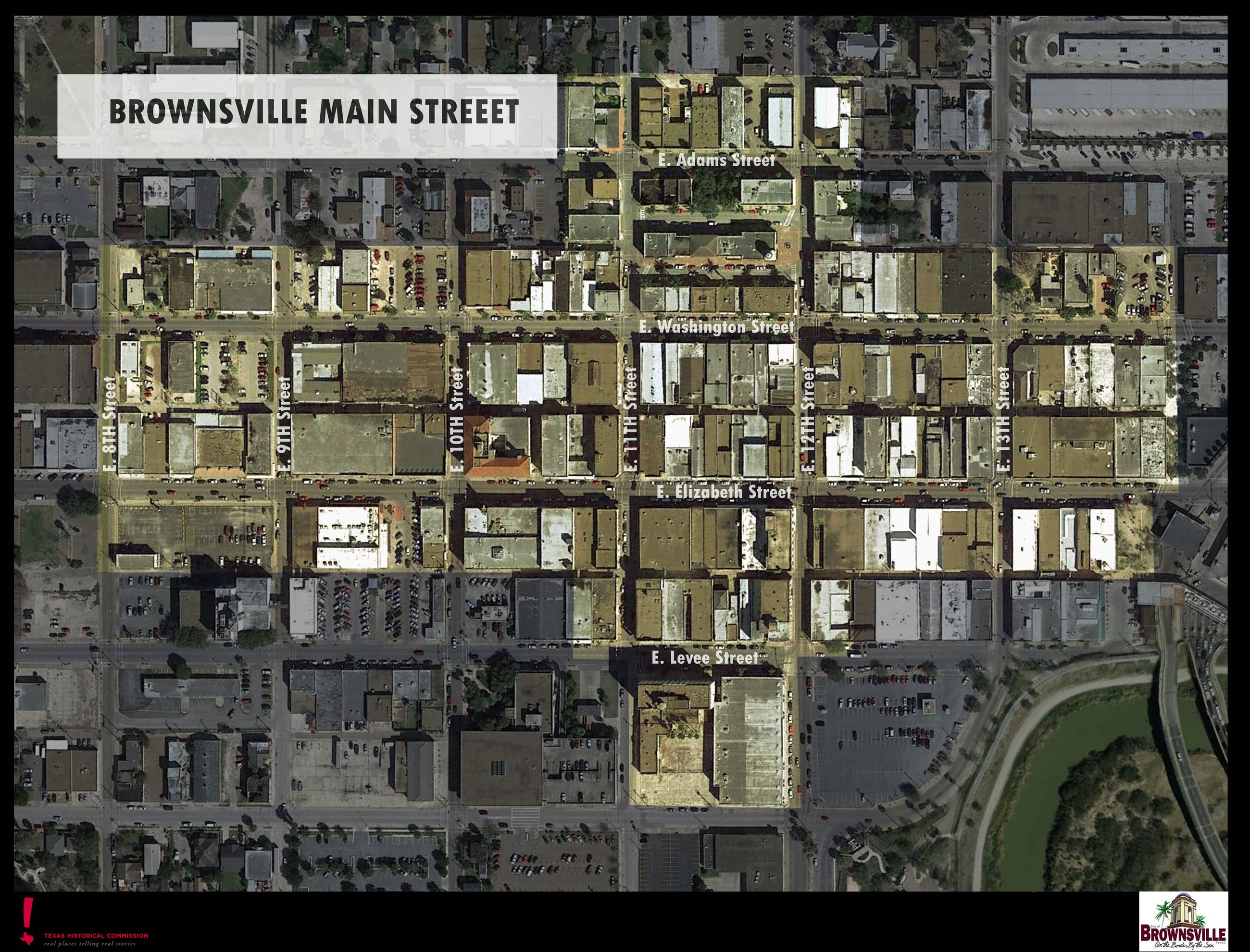 A map of main street