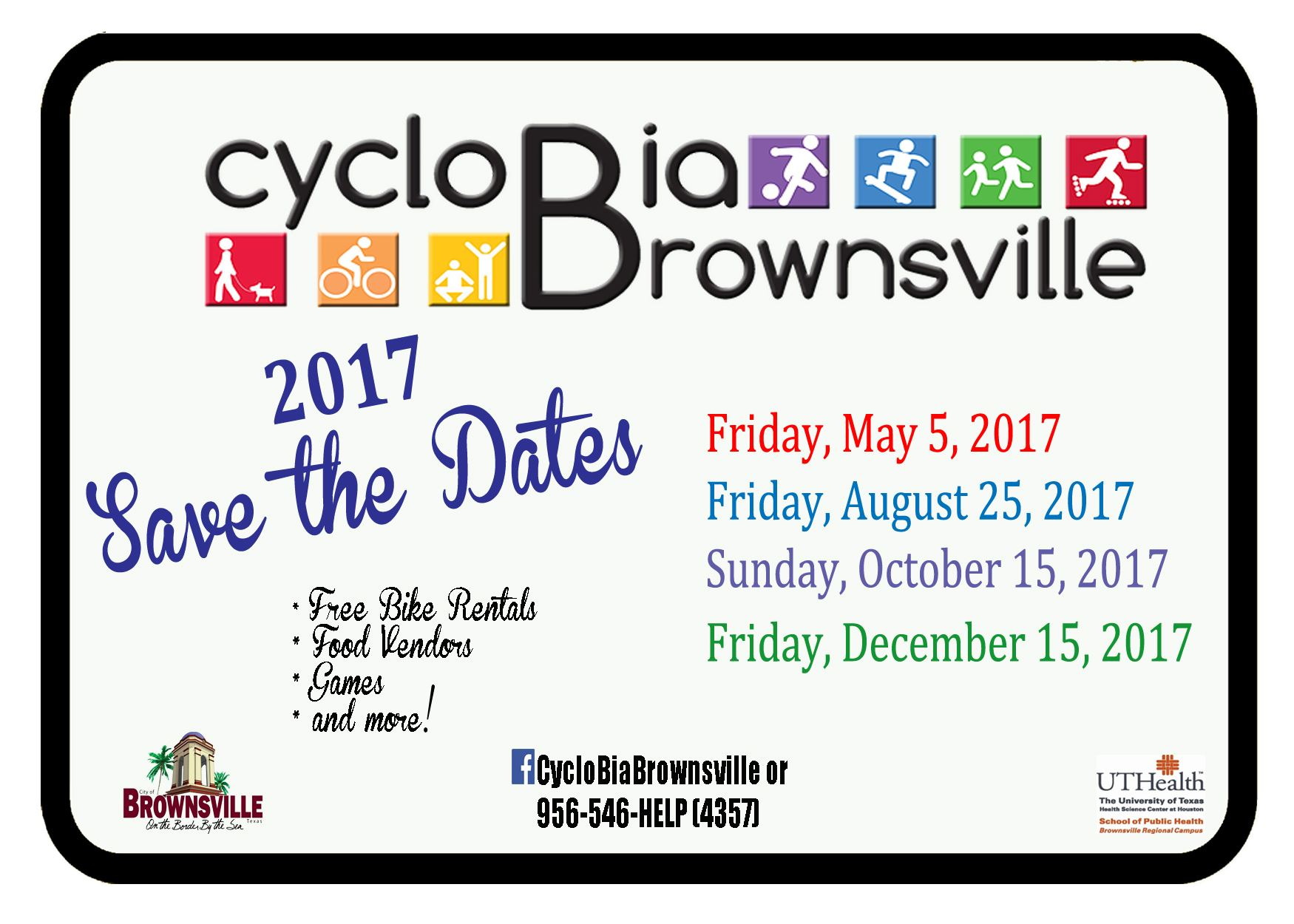 Save the Dates 2017