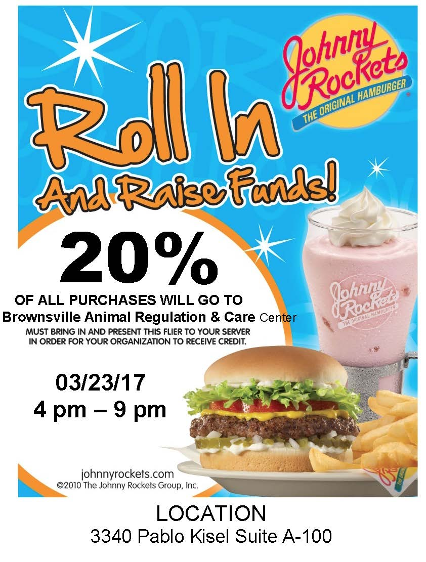 Johnny Rockets Fundraiser