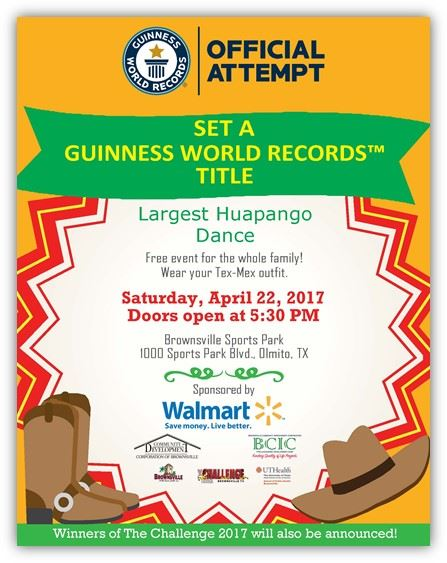 Brownsville Sports Park World Record Event April 22