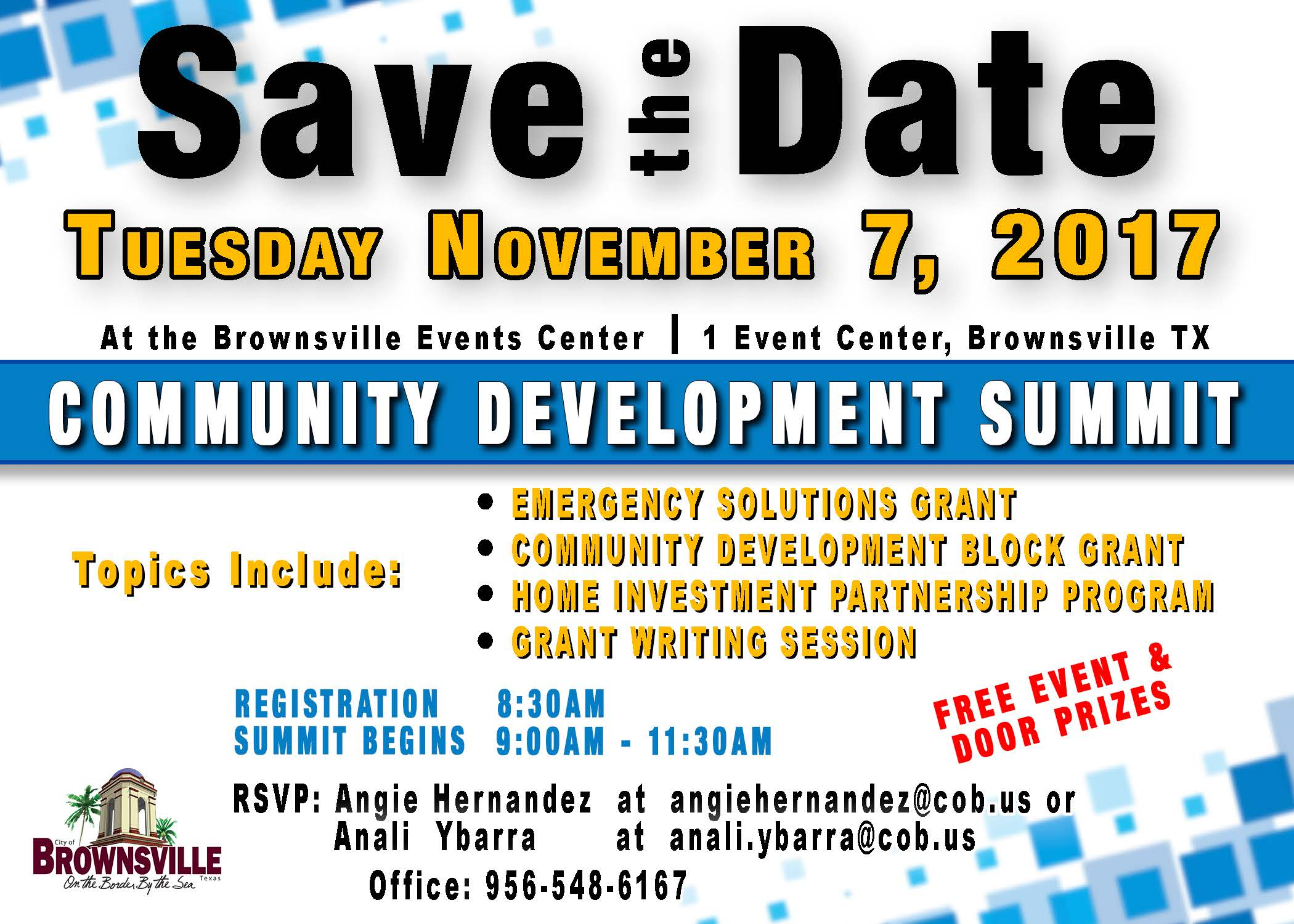 11.07.2017 Community Development Summit