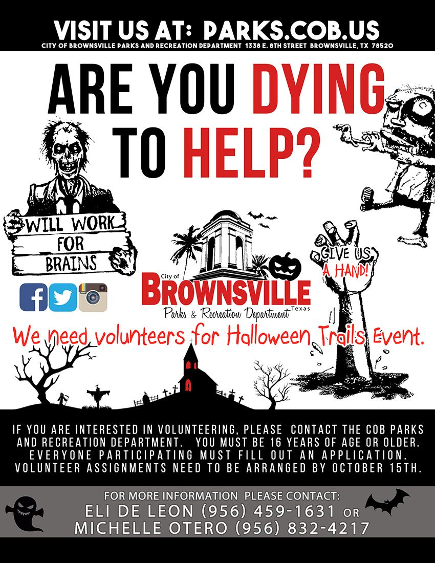 2017 HALLOWEEN HELP and volunteers