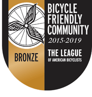 The League of American Bicycles Bronze Bicycle Friendly Community Award