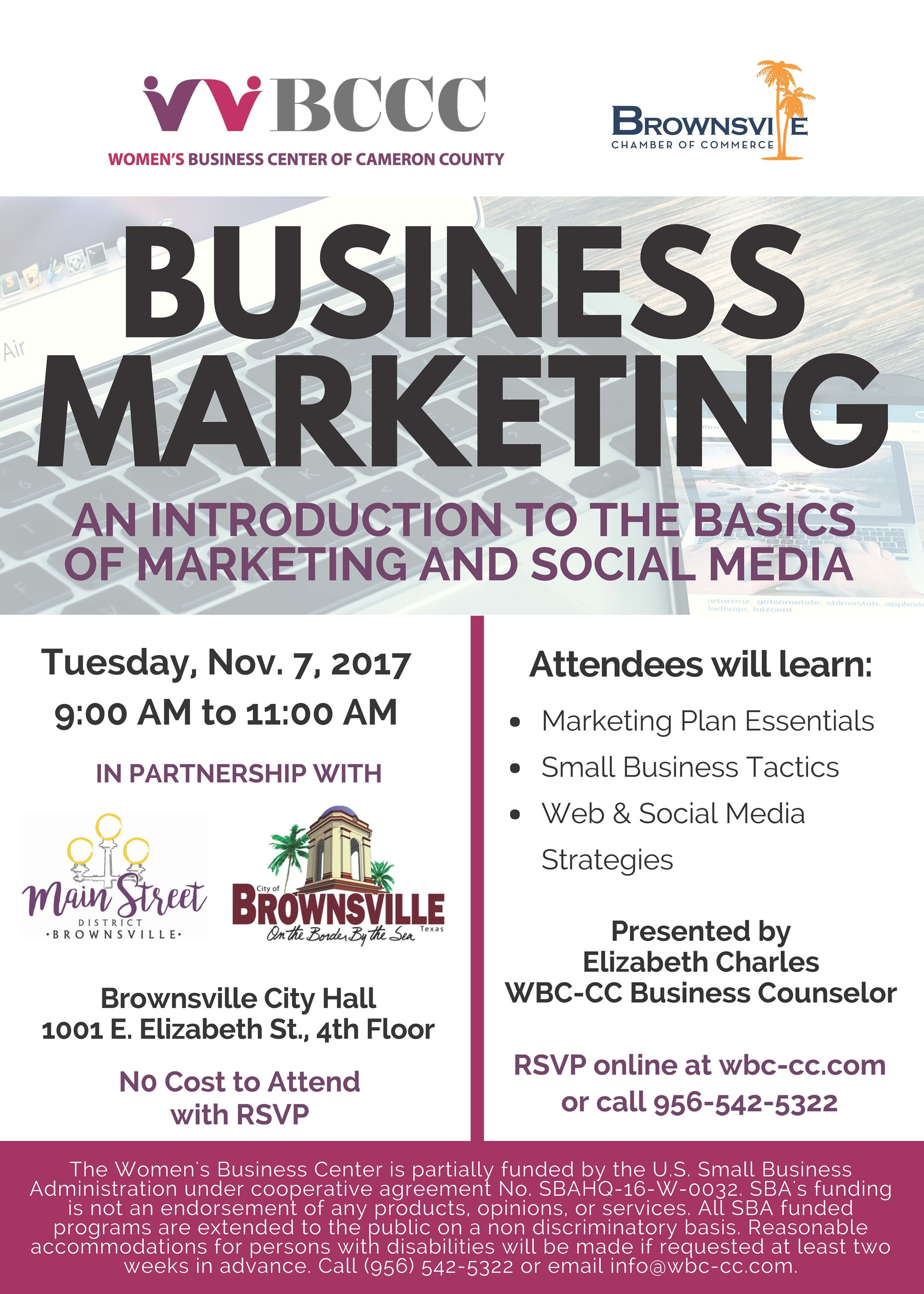 11.7.17 Business Marketing COB