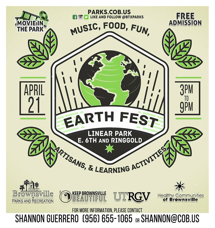 EarthFest Flyer 2018