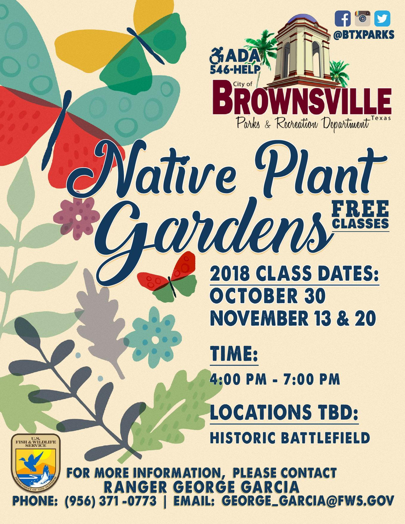NativePlantGarden Classes 2018