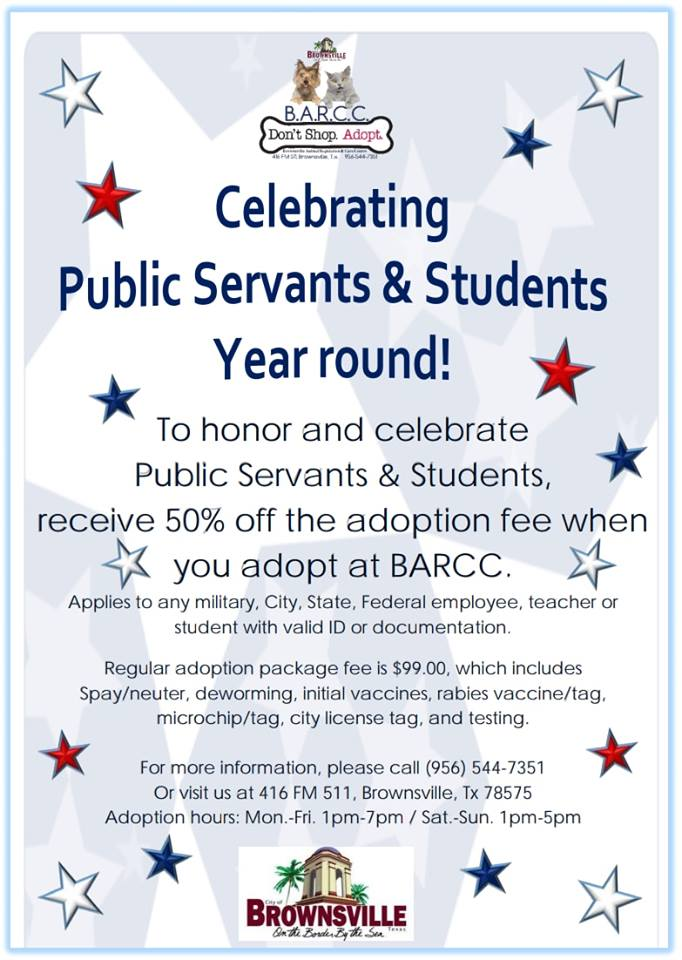 BARCC Public Servants . Students