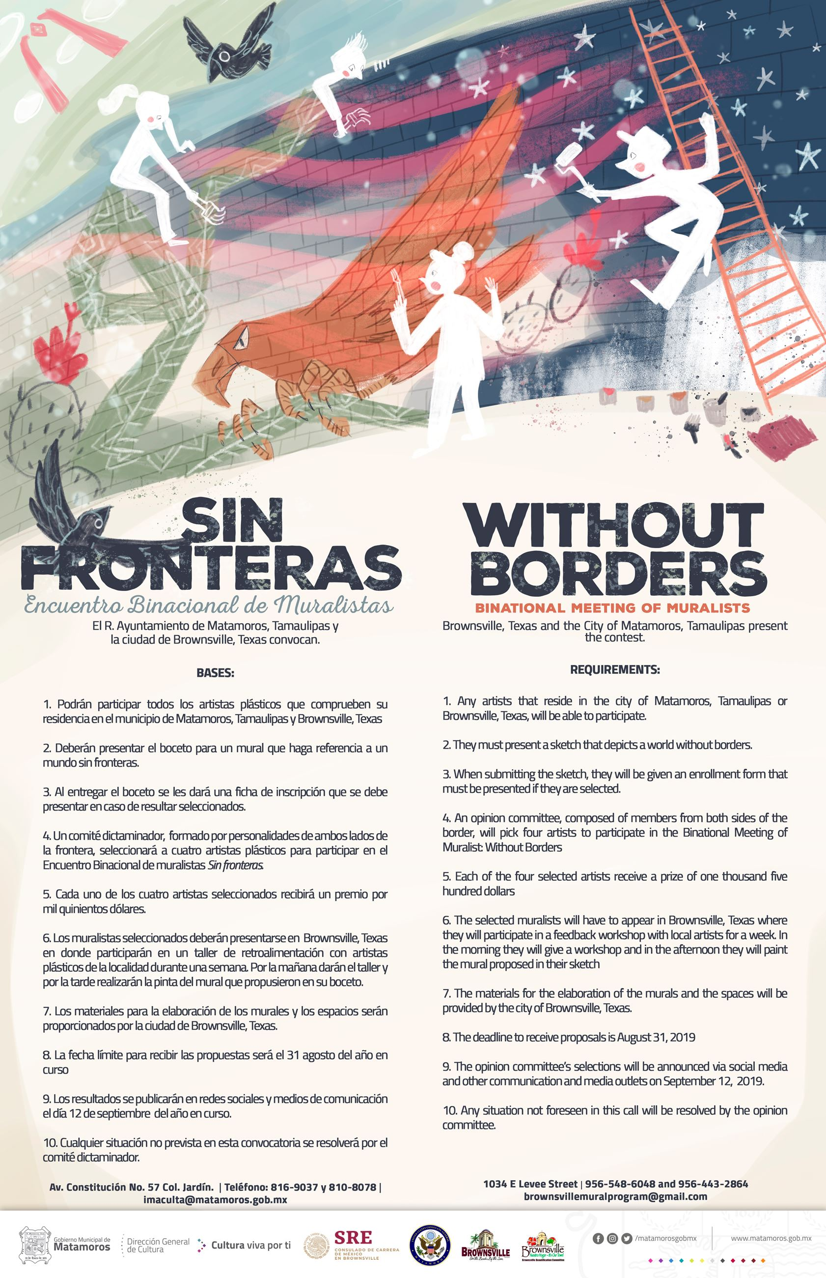 Murals Without Borders Flyer