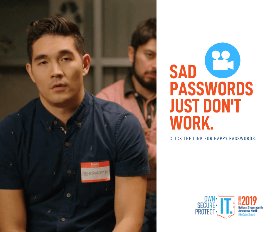 Sad Passwords Just Do not Work